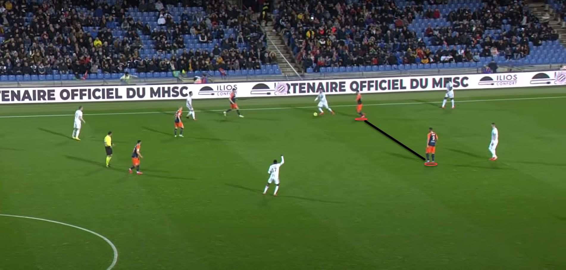 Montpellier 2019/20: Their striker duo - scout report - tactical analysis tactics