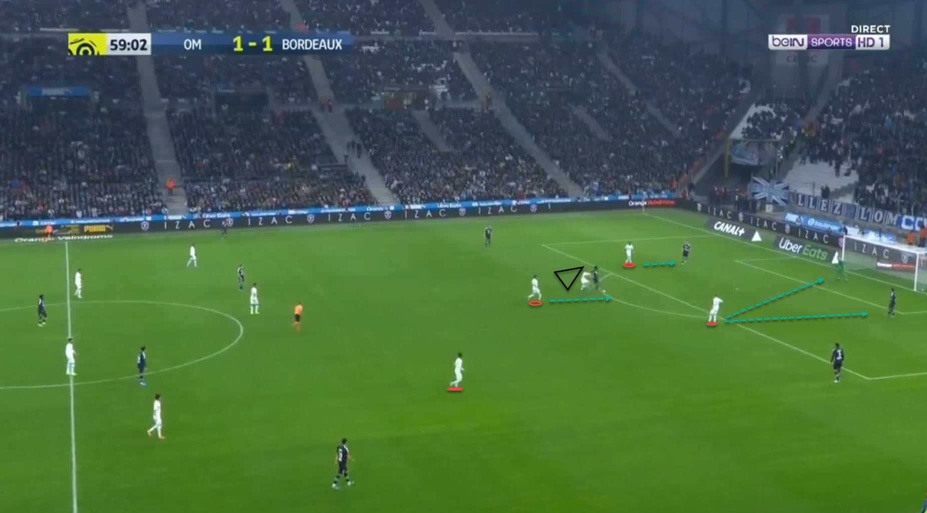 Marseille 2019/20: Their pressing - scout report - tactical analysis tactics