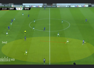 Europa League 2019/20: KAA Gent vs Saint-Etienne - tactical analysis tactics