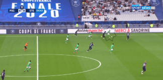 Coupe de France Final 2019/20: PSG vs Saint-Étienne - tactical analysis tactics
