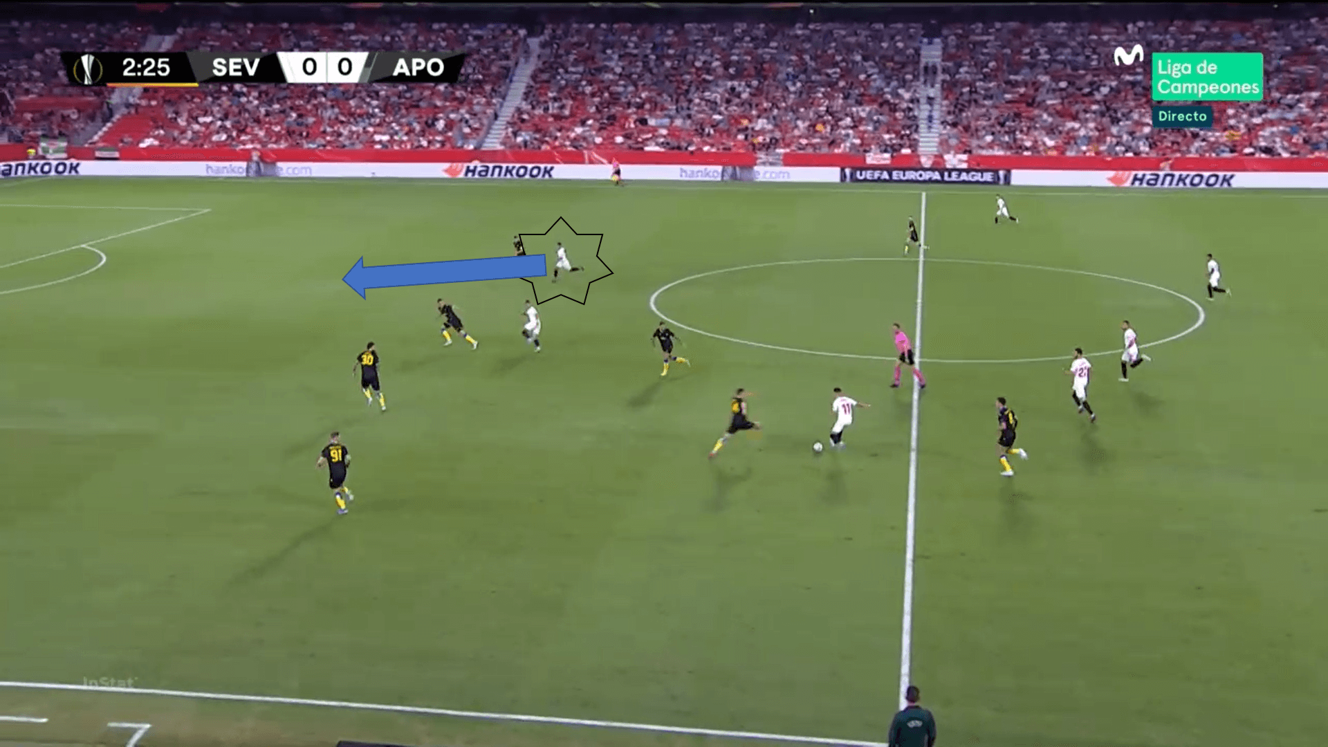 Rony Lopes at Nice 2019/20 - scout report - tactical analysis tactics