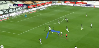 Burak Yilmaz at Lille 2019/20 - scout report tactical analysis tactics