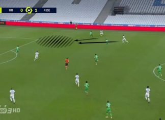 Ligue 1 2020/21: Olympique Marseille vs Saint-Etienne - tactical analysis tactics