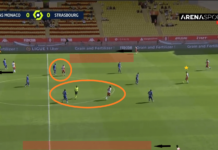 Ligue 1 2020/21: Monaco vs Strasbourg - tactical analysis tactics