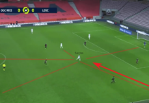 Ligue 1 2020/21: Nice vs LOSC Lille – tactical analysis tactics